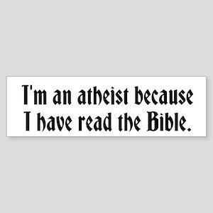 Read the Bible Sticker (Bumper)