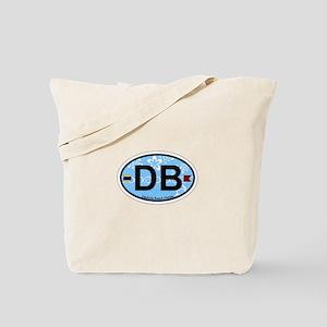 Daytona Beach - Oval Design. Tote Bag
