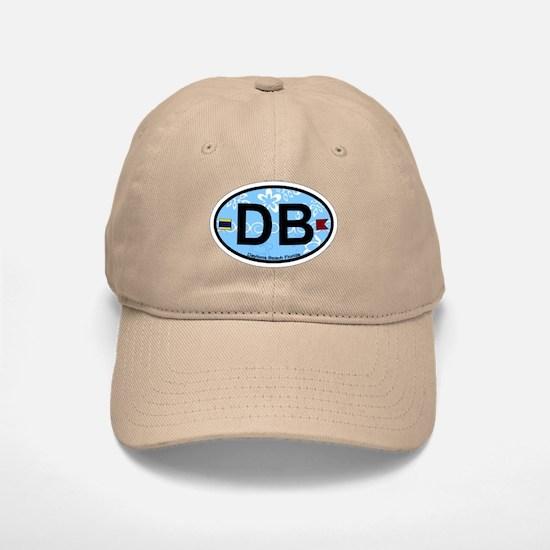 Daytona Beach - Oval Design. Baseball Baseball Cap