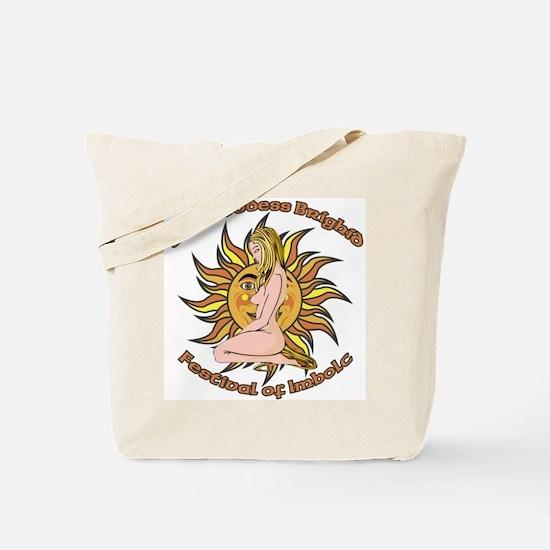 imbolc, Sun Goddess Tote Bag