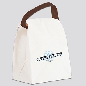 OUTERBANXIOUS Canvas Lunch Bag