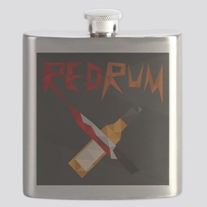 Official RedRum Podcast Logo Flask