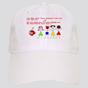 no_work Baseball Cap