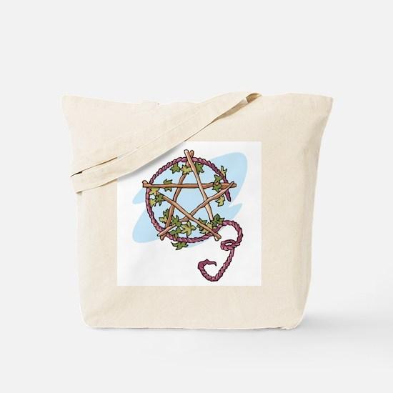 Lammas Pentagram Tote Bag