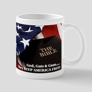 Gods Guts & Guns Mug