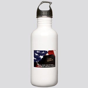 Gods Guts & Guns Water Bottle