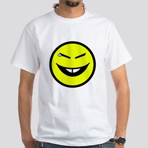 """You Make Chinky Laugh"" White T-Shirt"