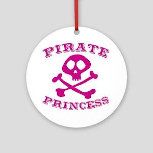 Pirate Princess Ornament (Round)