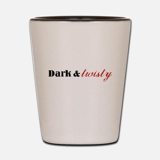 Dark Twisty Shot Glass