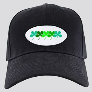 Irish Green Clovers St. Patricks Baseball Cap Hat
