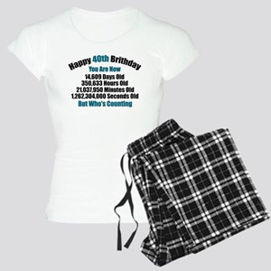 40th Birthday T-shirt Pajamas