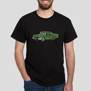 1958 Ford Fairlane 500 Light Green Dark T-Shirt