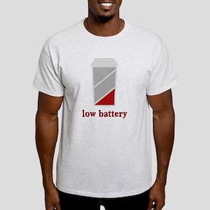 Low battery caffeine coffee Light T-Shirt