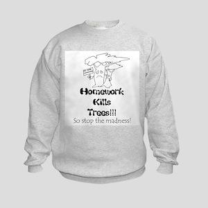 Funny Kids  Kids Sweatshirt