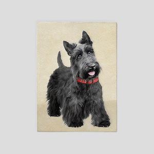 Scottish Terrier 5'x7'Area Rug