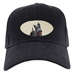 Scottish Terrier Black Cap with Patch