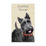 Scottish Terrier Sticker (Rectangle 50 pk)