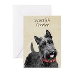 Scottish Terrier Greeting Cards (Pk of 20)