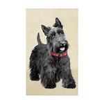 Scottish Terrier Sticker (Rectangle 10 pk)