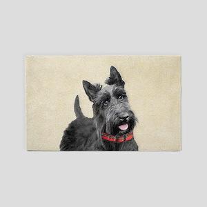 Scottish Terrier Area Rug