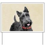 Scottish Terrier Yard Sign