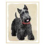 Scottish Terrier Small Poster