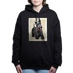 Scottish Terrier Women's Hooded Sweatshirt