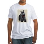 Scottish Terrier Fitted T-Shirt