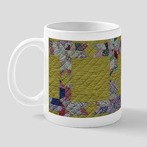 Yellow Quilt Mug