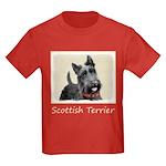Scottish Terrier Kids Dark T-Shirt