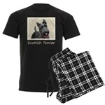 Scottish Terrier Men's Dark Pajamas