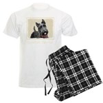Scottish Terrier Men's Light Pajamas