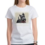Scottish Terrier Women's Classic White T-Shirt