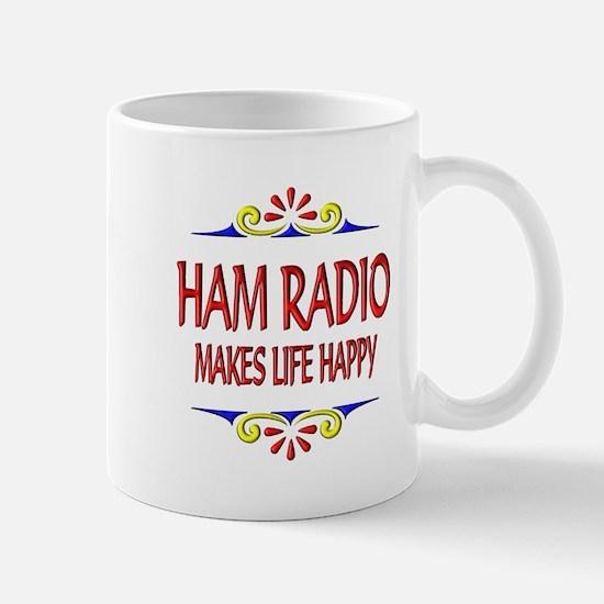 Ham Radio Life Happy Mug