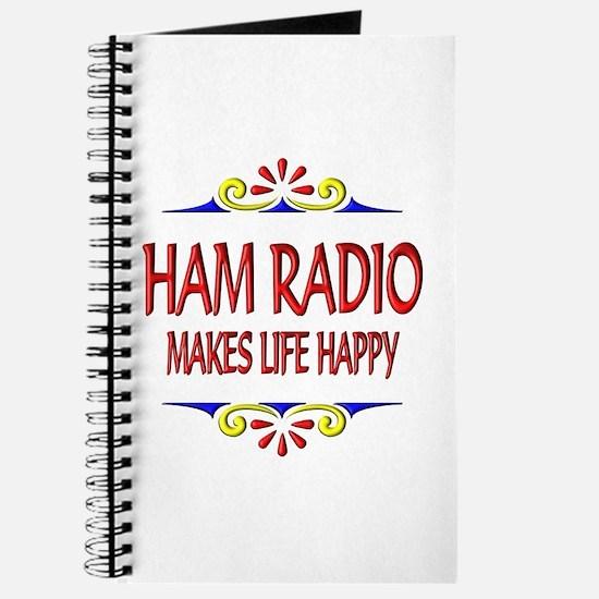 Ham Radio Life Happy Journal