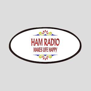 Ham Radio Life Happy Patches