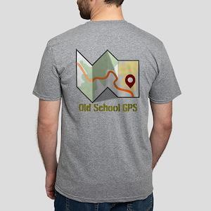 Old School GPS Mens Tri-blend T-Shirt