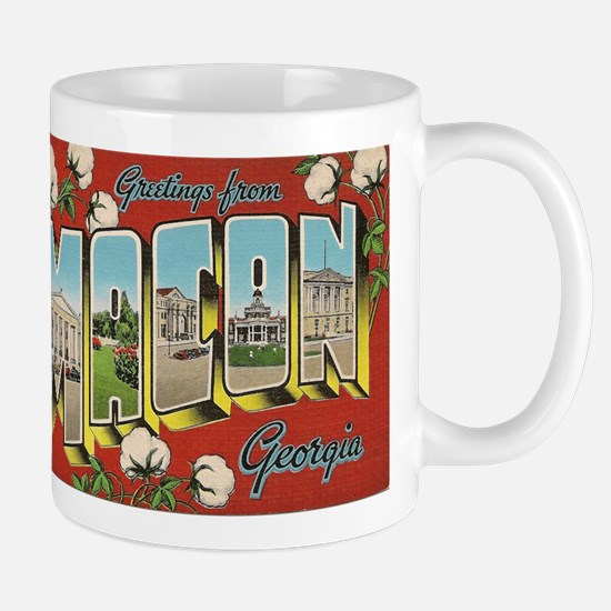 Greetings from Macon Georgia Mugs