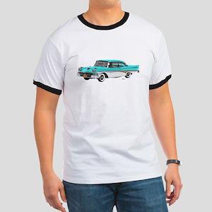1958 Ford Fairlane 500 Light Blue & White Ringer T