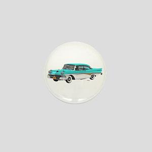 1958 Ford Fairlane 500 Light Blue & White Mini But