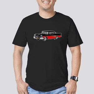 1958 Ford Fairlane 500 Black & Red Men's Fitted T-