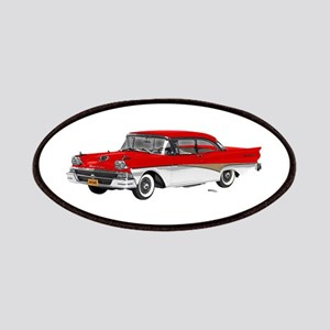 1958 Ford Fairlane 500 Red & White Patches