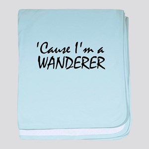 The Wanderer baby blanket