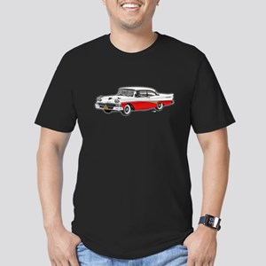 1958 Ford Fairlane 500 White & Red Men's Fitted T-