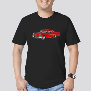 1958 Ford Fairlane 500 Red Men's Fitted T-Shirt (d