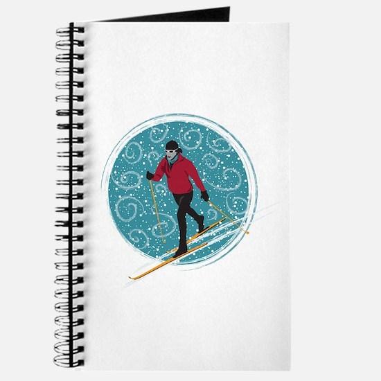 Nordic Ski Girl Journal