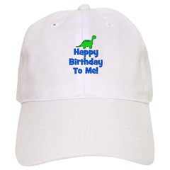 Happy Birthday To Me! Dinosau Baseball Cap
