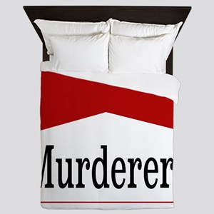 MURDERERS Queen Duvet