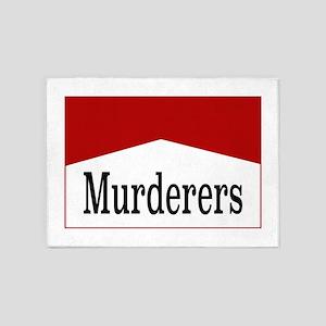 MURDERERS 5'x7'Area Rug