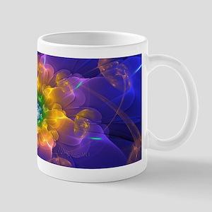 Fractal Flower Lights Mug